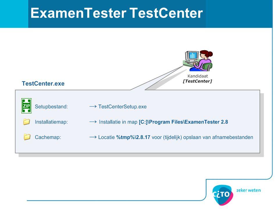 ExamenTester TestCenter