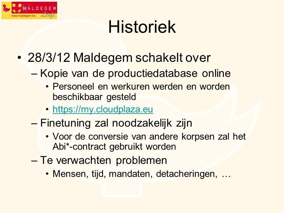 Historiek 28/3/12 Maldegem schakelt over