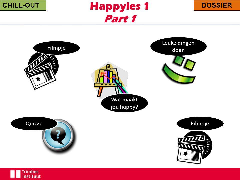 Happyles 1 Part 1 CHILL-OUT DOSSIER Leuke dingen doen Filmpje