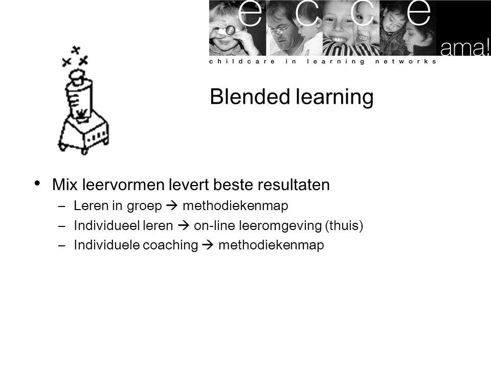 Blended learning Mix leervormen levert beste resultaten