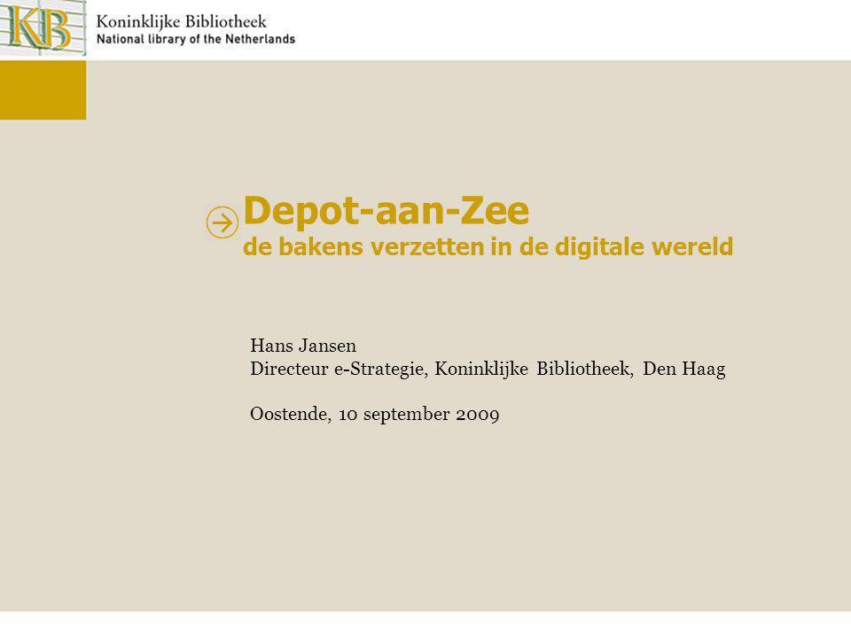 Depot-aan-Zee de bakens verzetten in de digitale wereld