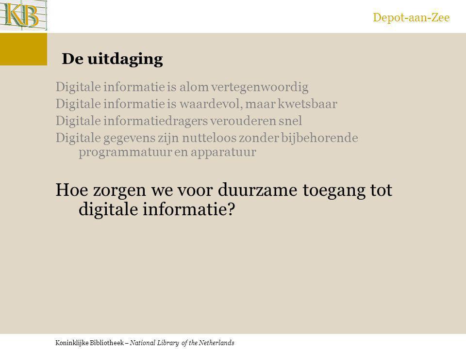 Hoe zorgen we voor duurzame toegang tot digitale informatie