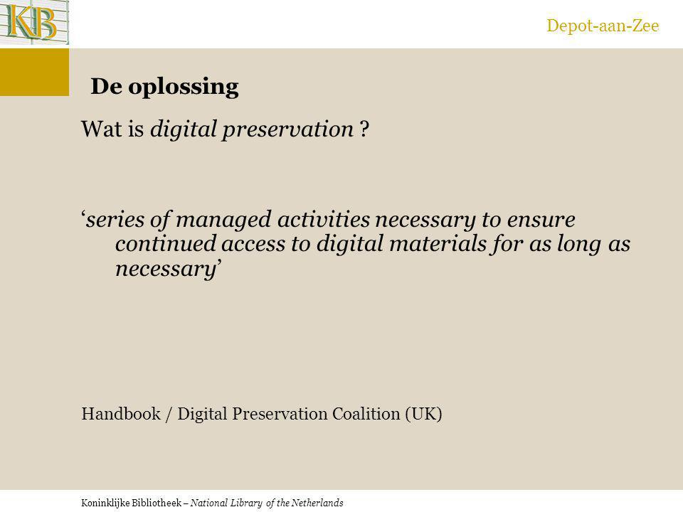 Wat is digital preservation