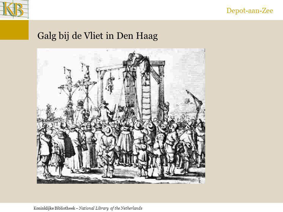 Galg bij de Vliet in Den Haag