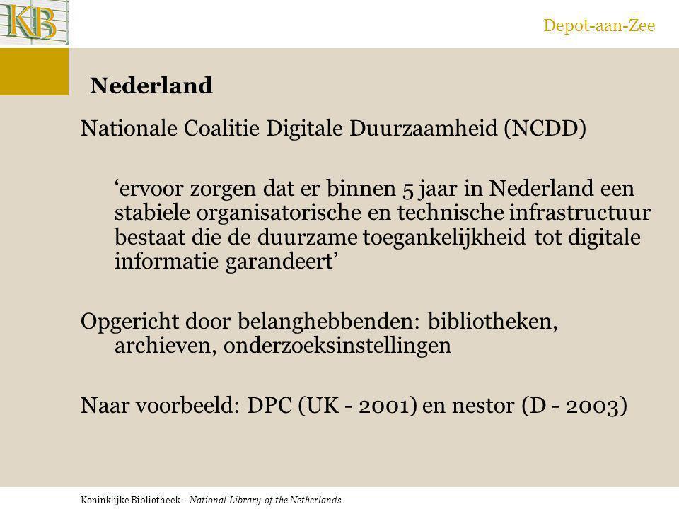 Depot-aan-Zee Nederland.