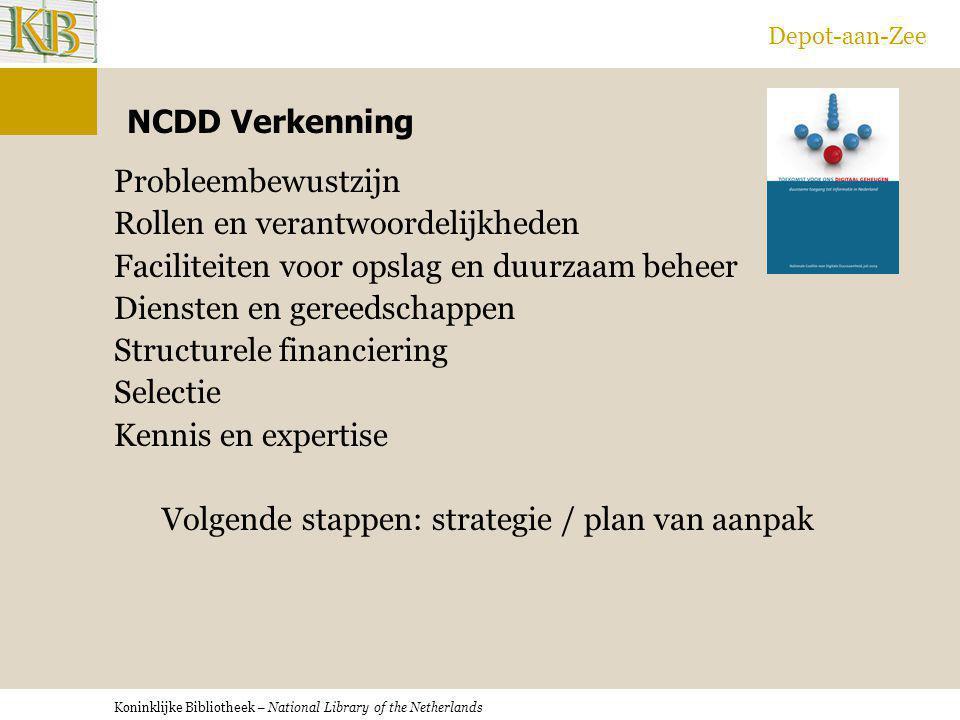 Depot-aan-Zee NCDD Verkenning.