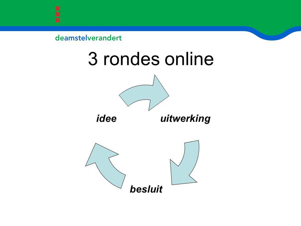 3 rondes online