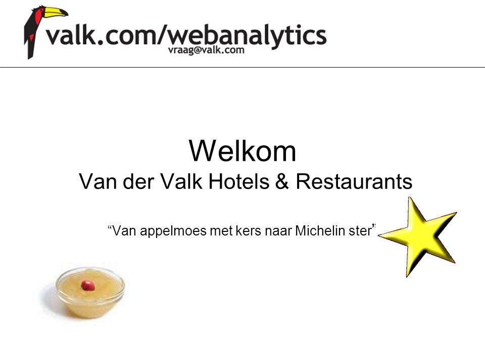 Welkom Van der Valk Hotels & Restaurants Van appelmoes met kers naar Michelin ster