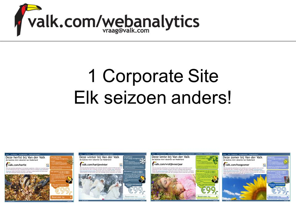 1 Corporate Site Elk seizoen anders!