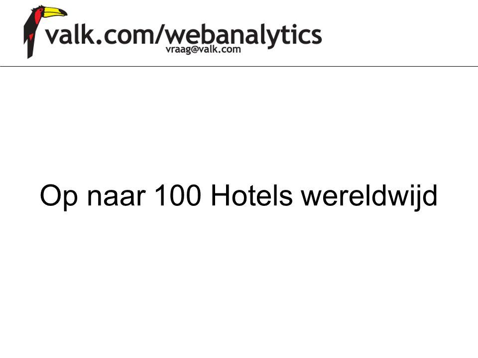 Op naar 100 Hotels wereldwijd