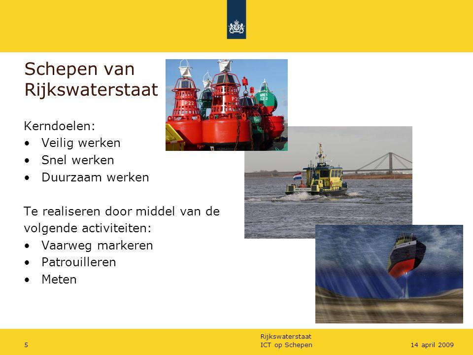 Schepen van Rijkswaterstaat