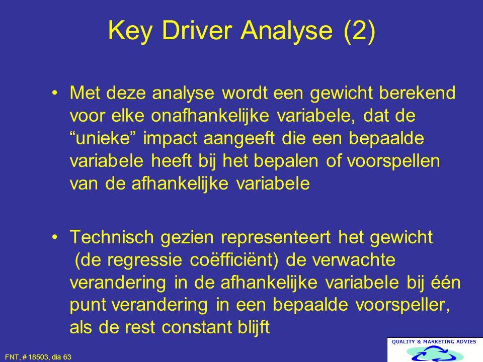 Key Driver Analyse (2)