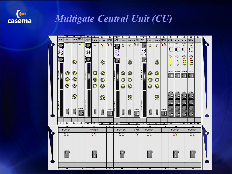 Multigate Central Unit (CU)
