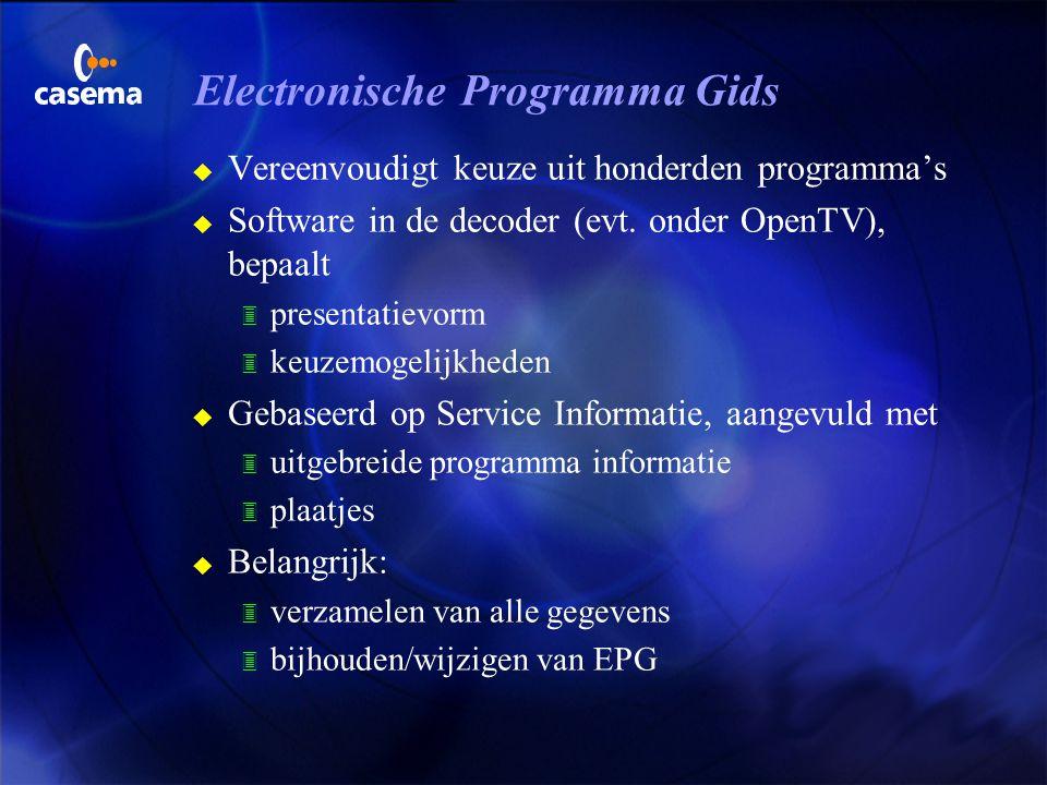 Electronische Programma Gids