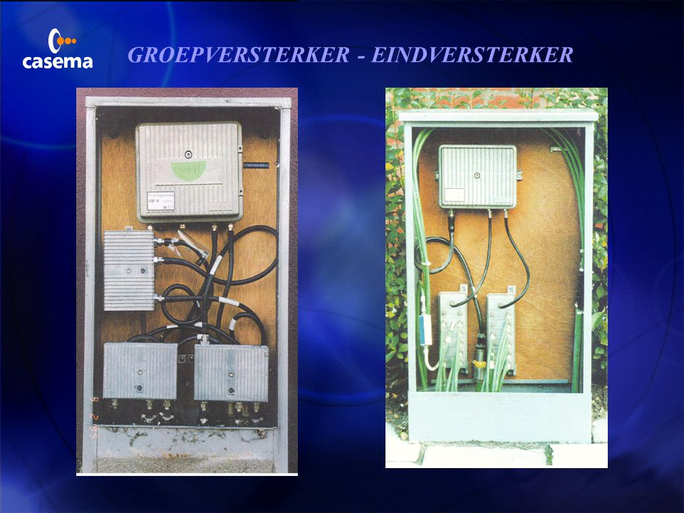 GROEPVERSTERKER - EINDVERSTERKER