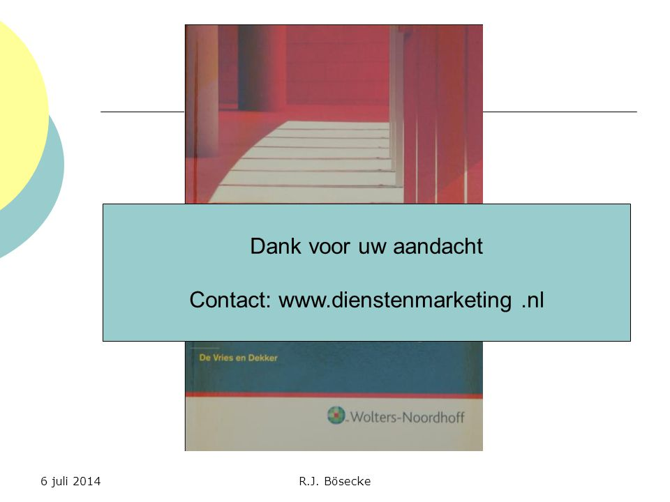 Contact: www.dienstenmarketing .nl