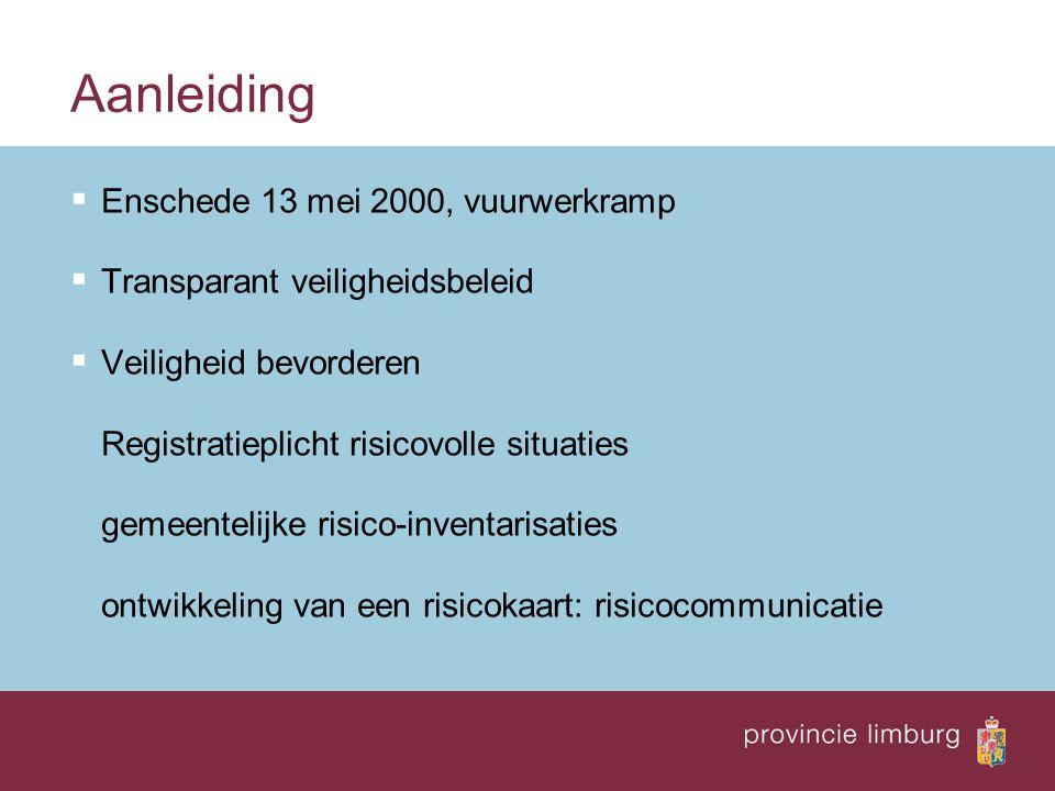Aanleiding Enschede 13 mei 2000, vuurwerkramp