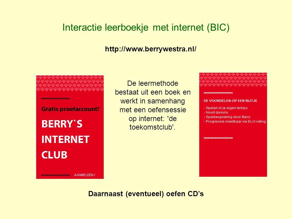 Interactie leerboekje met internet (BIC)