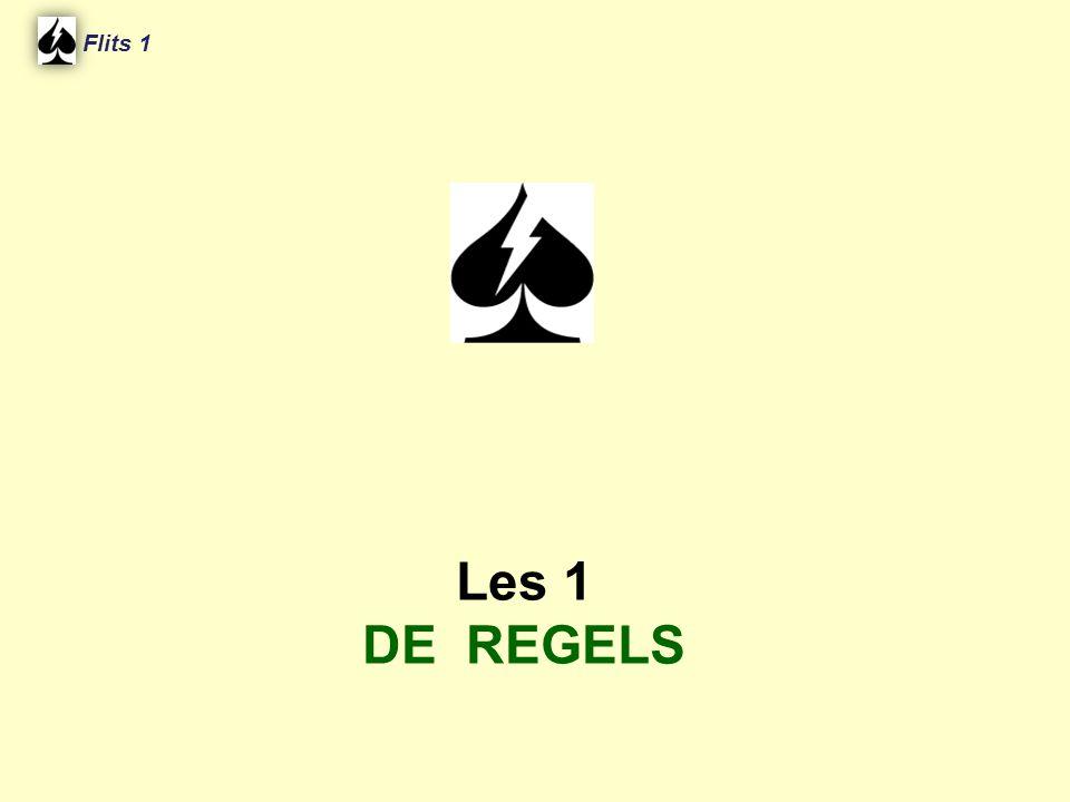 Flits 1 Les 1 DE REGELS Spel 2.