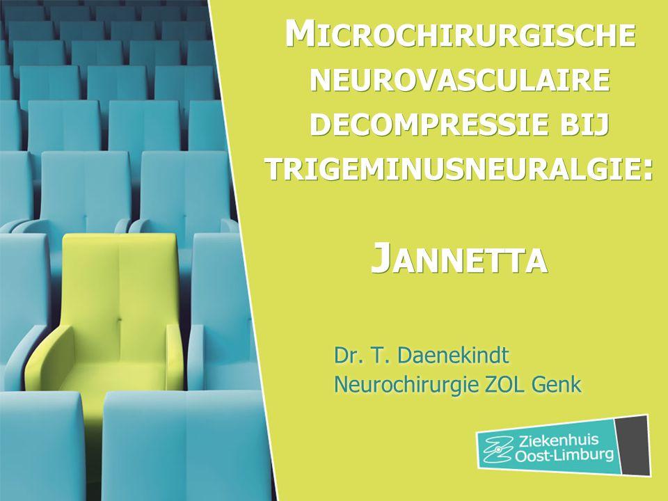 Dr. T. Daenekindt Neurochirurgie ZOL Genk