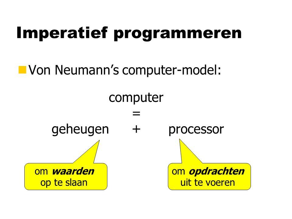 Imperatief programmeren