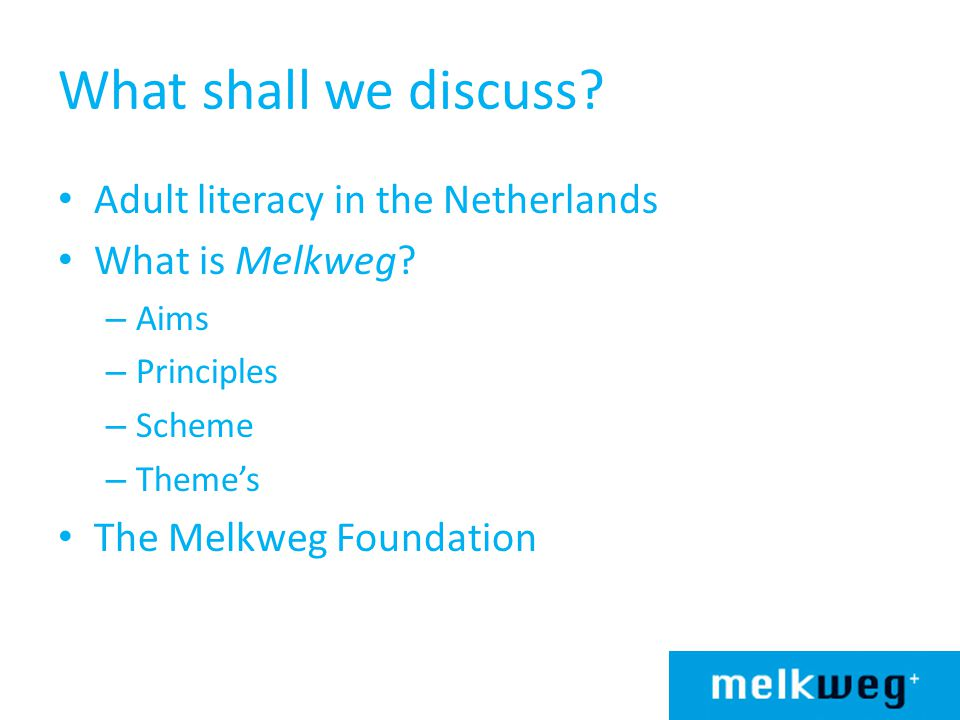 What shall we discuss Adult literacy in the Netherlands