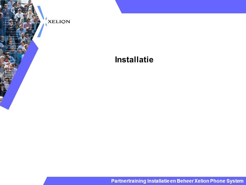 Installatie