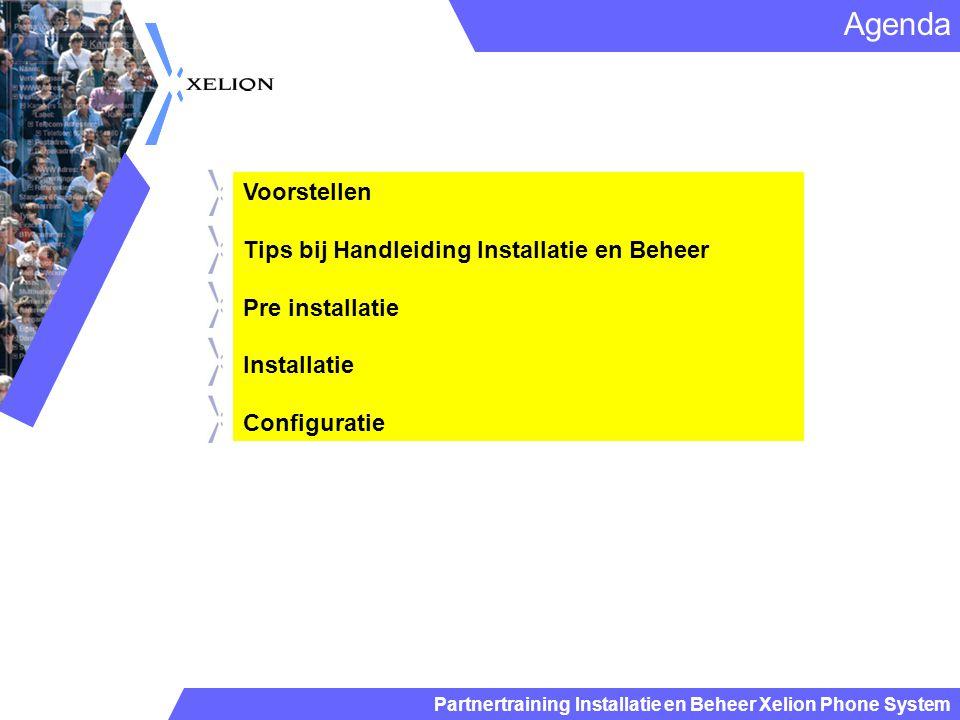 Agenda Voorstellen Tips bij Handleiding Installatie en Beheer