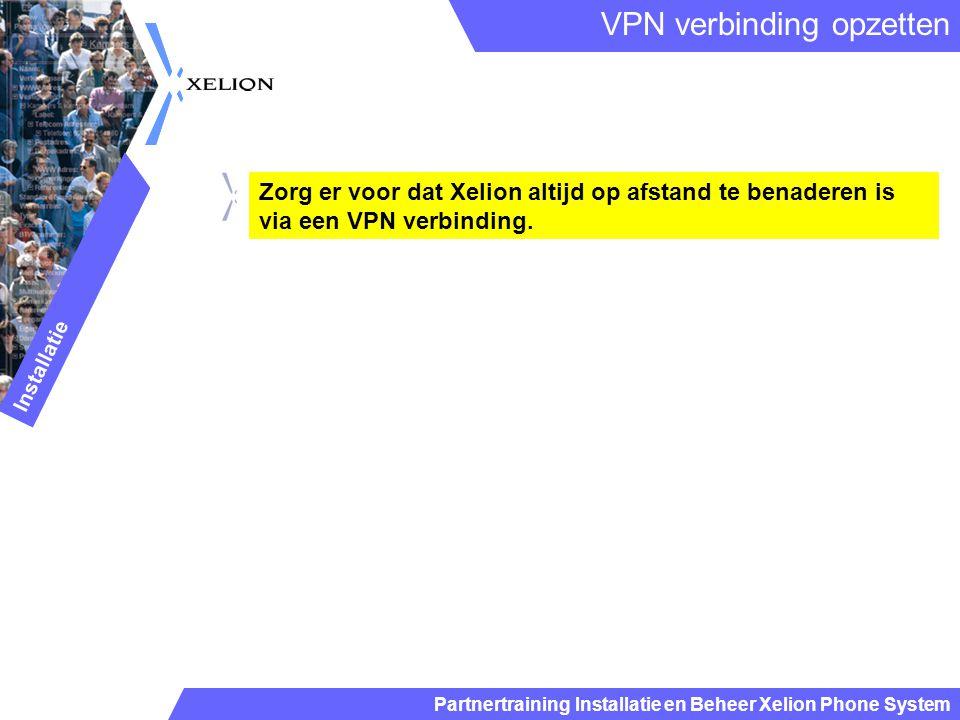 VPN verbinding opzetten