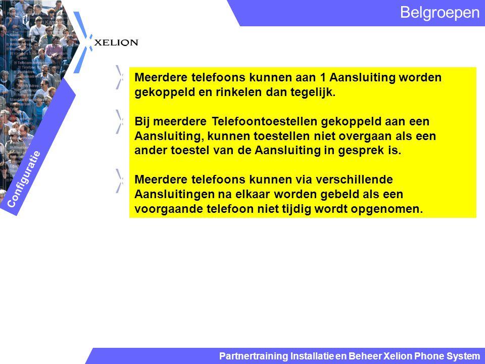 Belgroepen Meerdere telefoons kunnen aan 1 Aansluiting worden gekoppeld en rinkelen dan tegelijk.