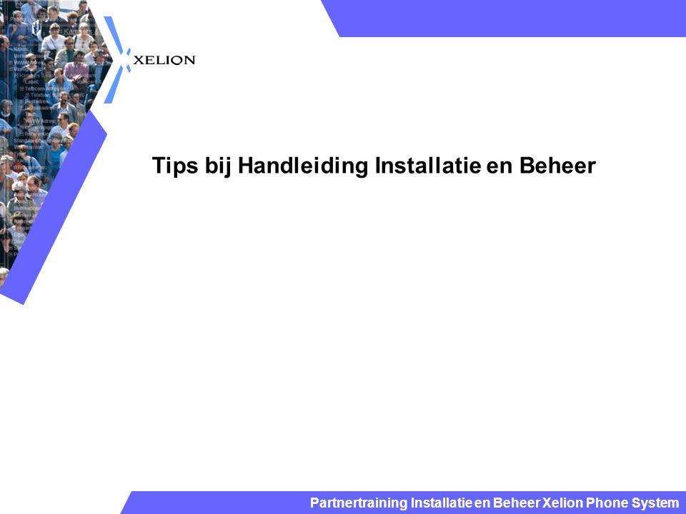 Tips bij Handleiding Installatie en Beheer