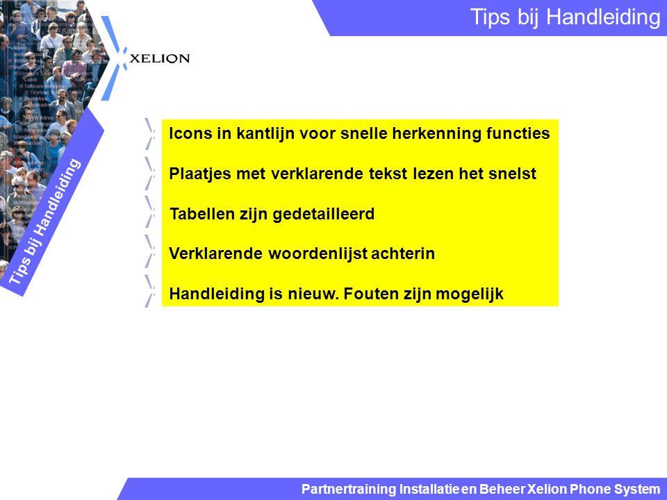 Tips bij Handleiding Icons in kantlijn voor snelle herkenning functies