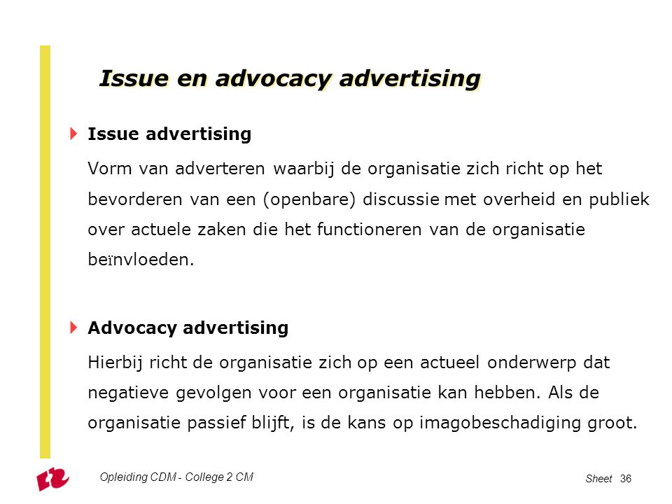 Issue en advocacy advertising