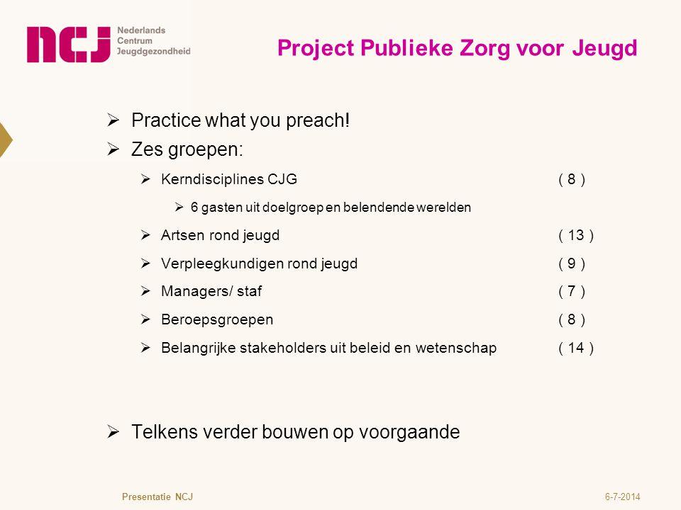 Project Publieke Zorg voor Jeugd