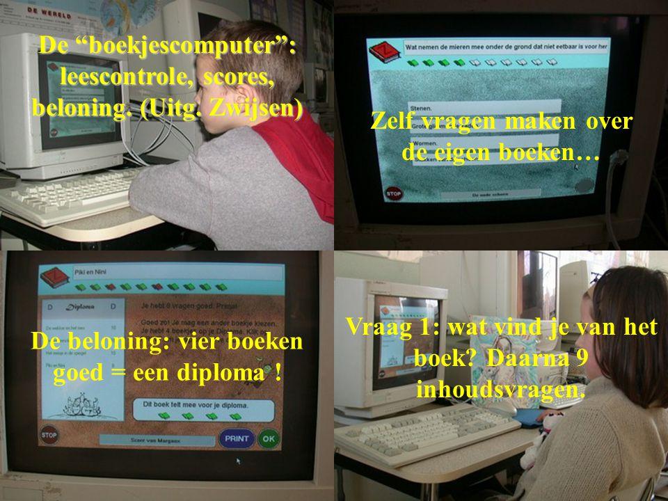 De boekjescomputer : leescontrole, scores, beloning. (Uitg. Zwijsen)