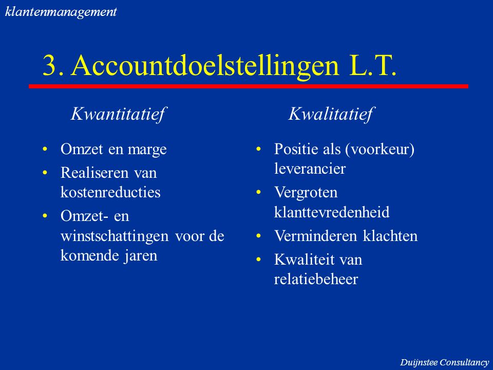 3. Accountdoelstellingen L.T.