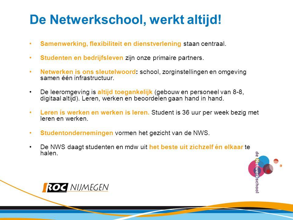 De Netwerkschool, werkt altijd!