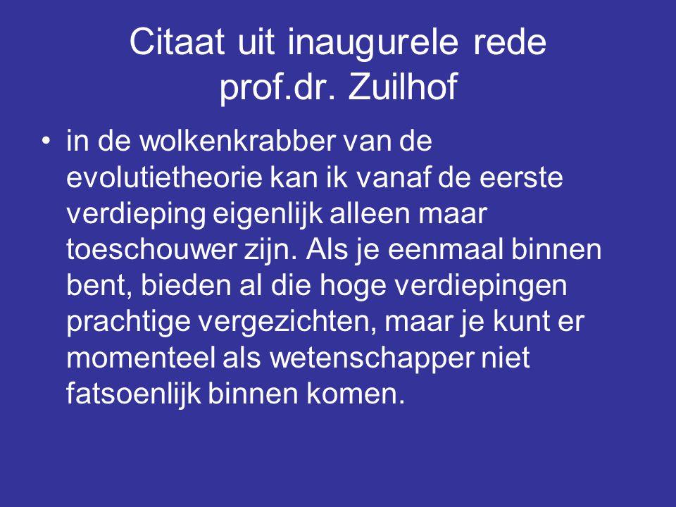 Citaat uit inaugurele rede prof.dr. Zuilhof
