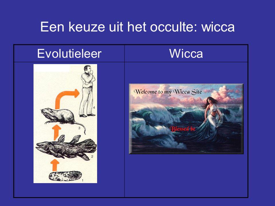 Een keuze uit het occulte: wicca