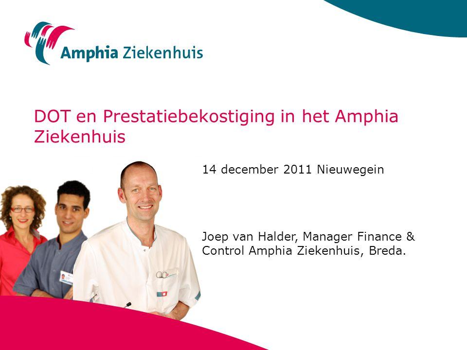 DOT en Prestatiebekostiging in het Amphia Ziekenhuis