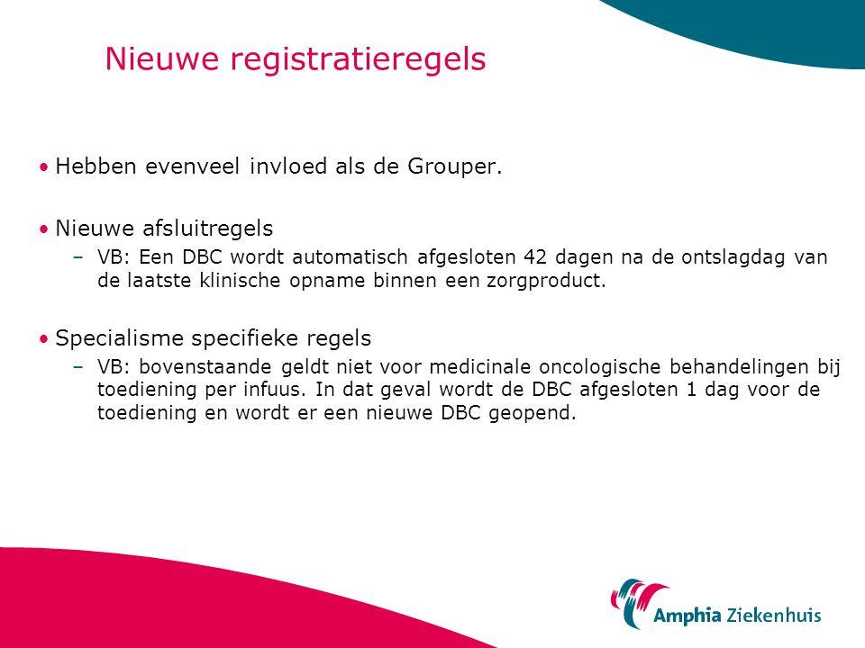Nieuwe registratieregels