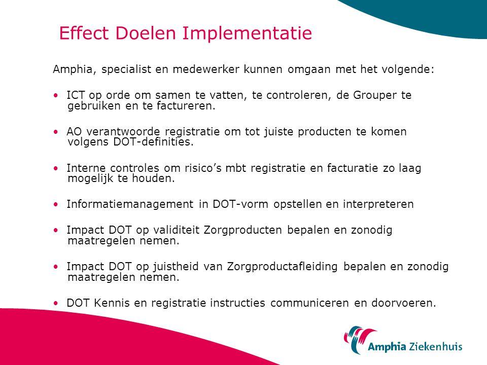 Effect Doelen Implementatie
