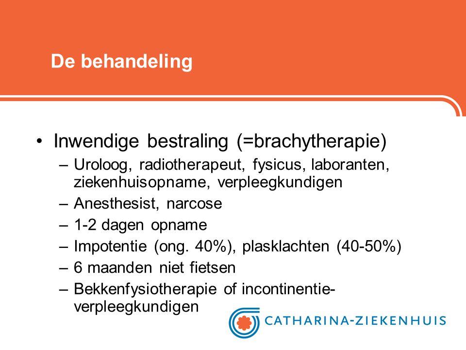 Inwendige bestraling (=brachytherapie)
