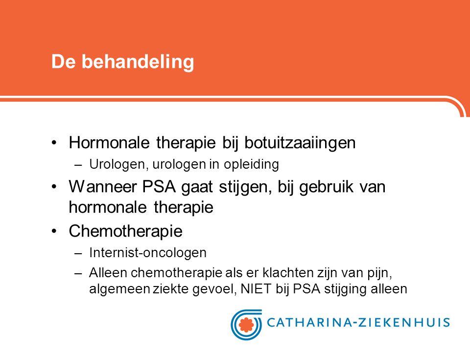 De behandeling Hormonale therapie bij botuitzaaiingen