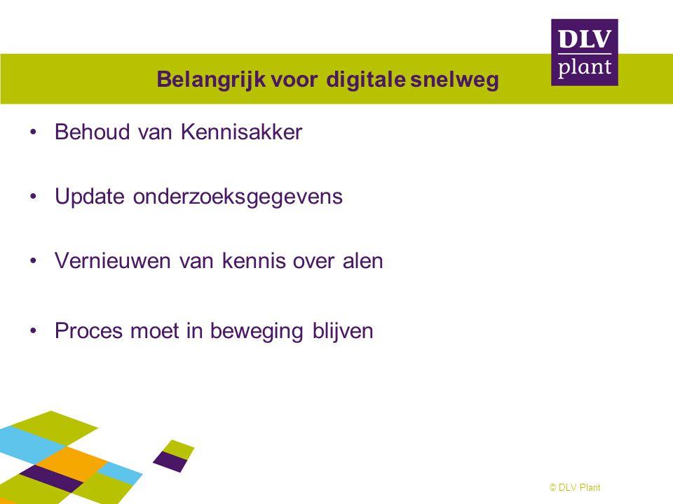 Belangrijk voor digitale snelweg