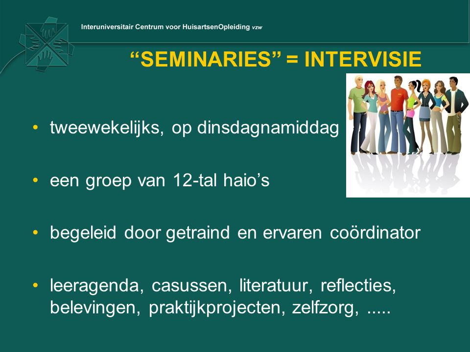 SEMINARIES = INTERVISIE