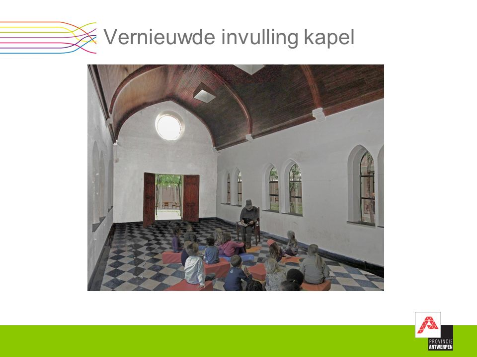 Vernieuwde invulling kapel