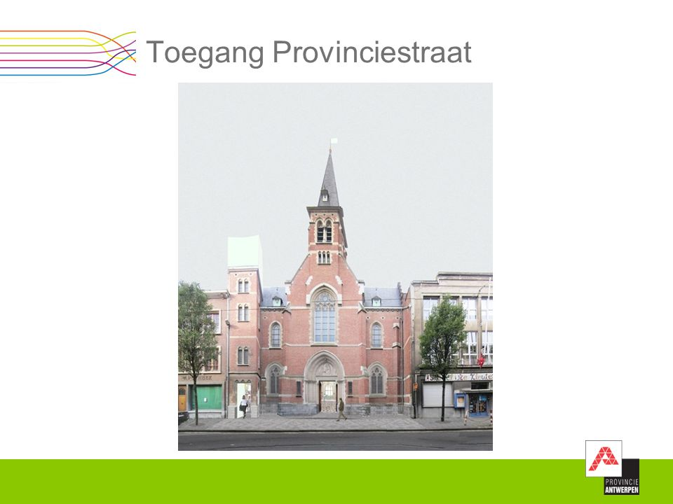 Toegang Provinciestraat