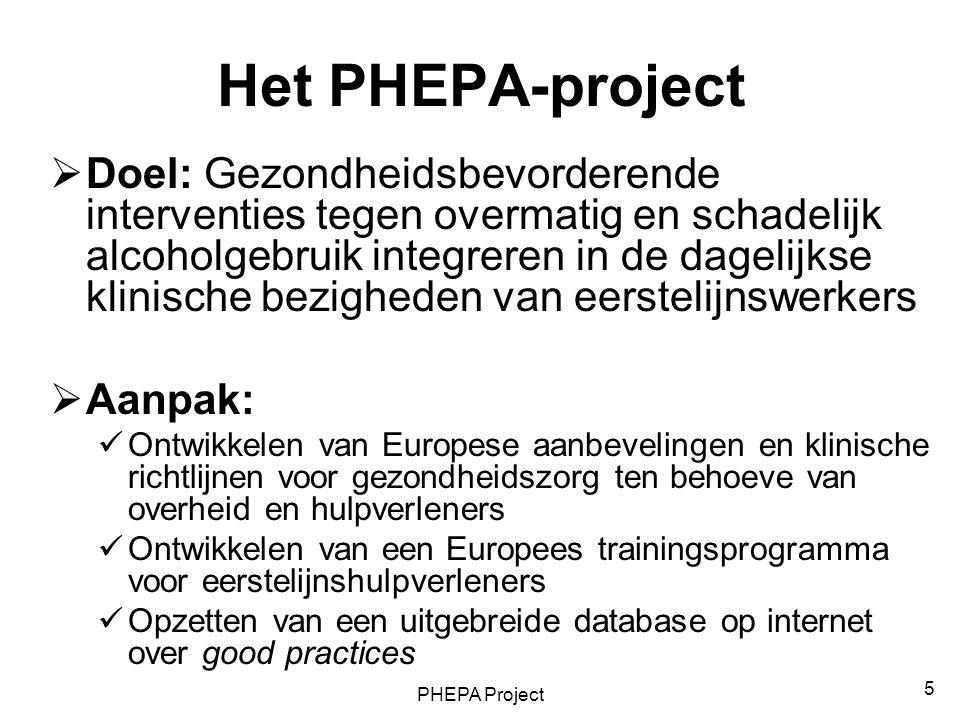 Het PHEPA-project