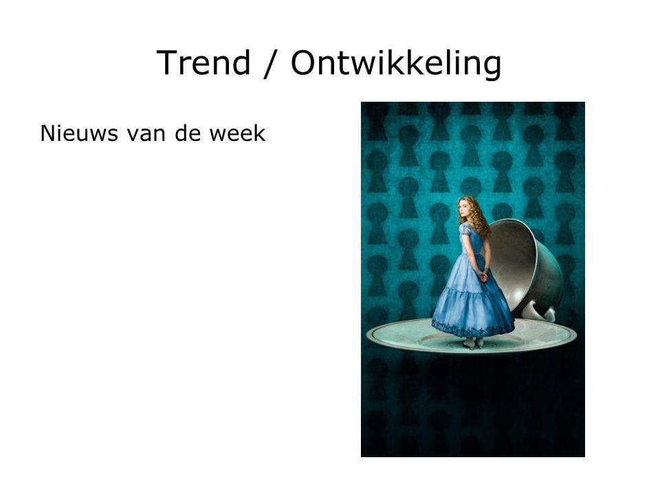 Trend / Ontwikkeling Nieuws van de week